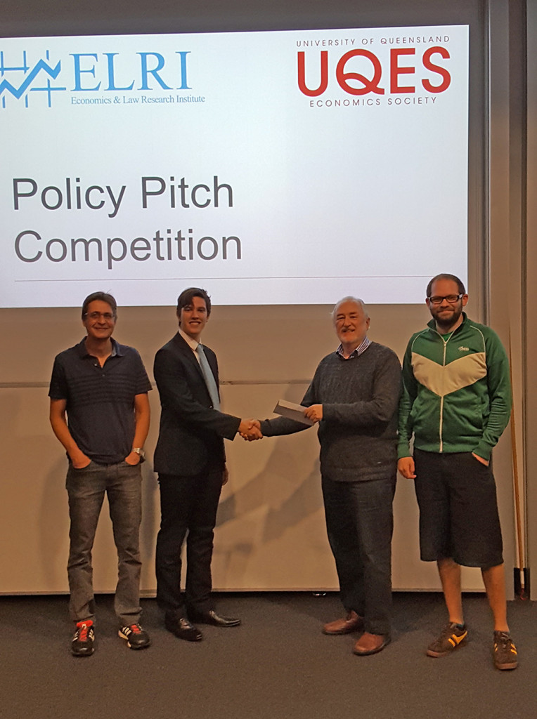 ELRI UQES Policy Pitch Competition